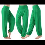 Pantalon ample grande taille - Court ou Long - M au 3XL - vert