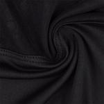 tissu-doux- Legging et Top de Yoga à capuche avec résille - Noir - S au L
