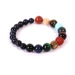 NAPOLN-multicolore-il-de-tigre-perles-Bracelets-7-Chakra-Bracelets-pierre-naturelle-Bracelet-de-gu-rison