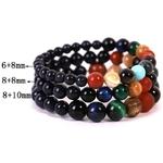 Bracelet de Protection - Oeil de Tigre - 3 Tailles de Perles