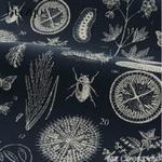 Tenture murale-tissu de brocart en coton - Imprimé Nature