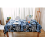 Nappe de table bleu océan zen - Passion yoga