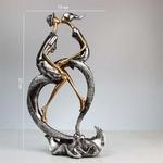 Dimensions Figurine de décoration - Statue Baiser des Amoureux
