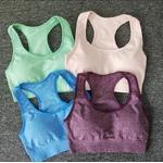 Brassière de Yoga - Sans couture - S au L - 9 couleurs - Passion Yoga