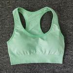 Brassière de Yoga - Sans couture - S au L - Vert