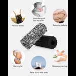 Rouleau de Yoga - En Mousse - 32 CM - 2 Couleurs au choix