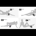 Exercices Rouleau de Yoga - En Mousse - Passion Yoga