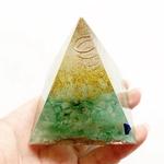 Pyramide de Protection - Maison et Corps - Aventurine verte - orgone