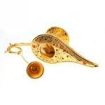 Ouverture Idée déco : Lampe magique style Aladdin - Métal doré 3D