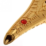 Passion Yoga Idée déco : Lampe magique style Aladdin - Métal doré 3D