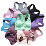 Brassière de Yoga - Sans couture - S au L - 9 couleurs
