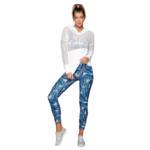 Sweatshirt à capuche - Manches longues de Yoga résille