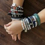 Manava - Bracelets en perles naturelles - Passion yoga