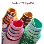 détails Tapis de yoga effet velours - Motifs indiens - Ecolo - 6 MM