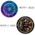 Serviette de méditation ou Fouta de plage rond - Signes astrologiques - 2 Motifs au choix