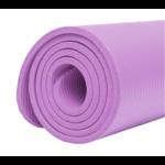 Tapis de Yoga épais - Imperméable - anti-dérapant - 10 MM - violet