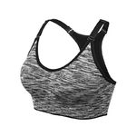 Brassière de Yoga rembourrée - Sans couture et réglable - noir - taille S
