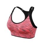 Brassière de Yoga rembourrée - Sans couture et réglable - orange - taille XL