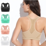Passion yoga - Soutien-Gorge rembourrée - Sans coutures - M au XL - 5 couleurs