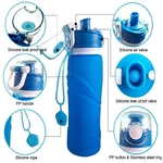 Gourde pliable - Silicone alimentaire - 750 ML