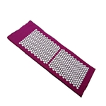 Grand Tapis - Acupression - Massage et Relaxation - 130 x 50 cm - violet