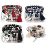 Manava - Bracelets en perles naturelles - Yoga passion