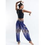 Violet - Pantalon de méditation en coton -  Hippie chic