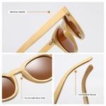 Détails bambou Lunettes de soleil - Tout Bambou