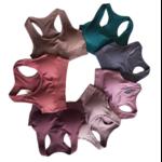 7 couleurs disponibles - Ensemble de yoga sans couture - Legging taille haute et Brassière rembourrée - S au L