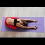 Tapis de Yoga Ecologique - Alignement corporel - Aide au positionnement - violet