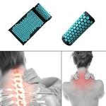Acupression - Tapis et Oreiller - Thérapie - Massage - Acupuncture - Fleur de lotus