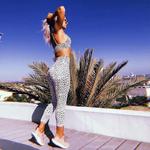 SALSPOR-femmes-mode-Sexy-l-opard-impression-Yoga-ensemble-de-gymnastique-antichoc-Sport-soutiens-gorge-Sport