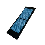 Grand Tapis - Acupression - Massage et Relaxation - 130 x 50 cm - NOIR
