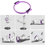 Cercle-de-Yoga-professionnel-Pilates-Sport-anneau-magique-Fitness-r-sistance-cin-tique-cercle-quipement-de