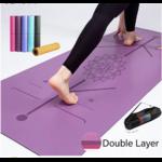Tapis de yoga écologique - Aide au positionnement