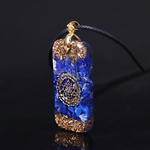 Amulette Mystérieuse - Collier en Lapis lazuli -  Stimuler les affaires commerciales