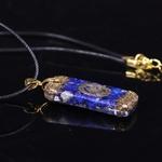 Passion Yoga Amulette Mystérieuse - Collier en Lapis lazuli - Pour Stimuler les affaires commerciales