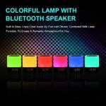 5 en 1 Lampe LED Haut-Parleur Bluetooth - Meditation