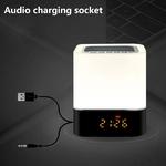 LED-color-intelligent-veilleuse-r-veil-Bluetooth-haut-parleur-tactile-contr-le-lampe-de-chevet-avec