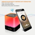 Lampe LED Haut-Parleur Bluetooth - Meditation lampe de chevet intelligente
