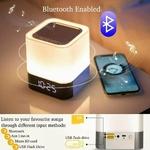 Lampe LED Haut-Parleur Bluetooth 5 fonctions
