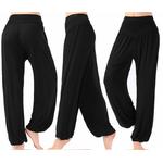 Pantalon ample grande taille - Court ou Long - M au 3XL - noir
