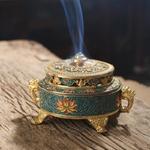 Brûleur support d'encens style tibétain