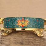 Magnifique brûleur support dencens style tibétain