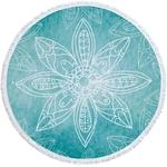 Serviette de plage - Tapis de méditation - 150 CM - Motif Yogi namaste - 16 Modèles au choix