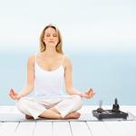 Jardin Spirituel zen - Sable - Statue de Bouddha - Brûleur dencens - Pour méditation