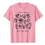 T-Shirt imprimé zen - Sauvons les Abeilles- rose - taille XXXL
