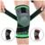 Passion Yoga - Genouillère rotulienne professionnelle - Anti-douleurs - Compression 3D
