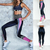 Passion yoga - Legging taille haute - Pinky - Yoga - Fitness - S au XL
