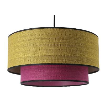 Stratos Marl Pendant Light – yellow/pink